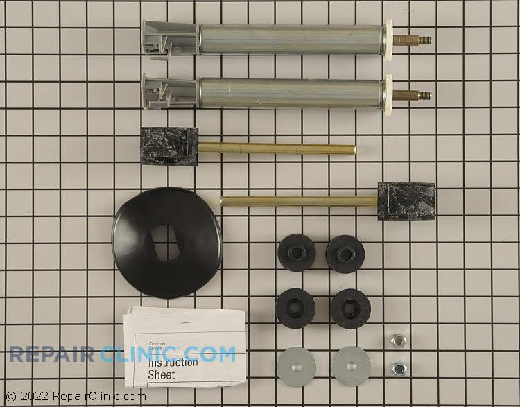 Rear strut kit, (2) struts