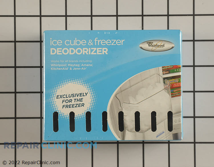 Deodorizer Specifically for your freezer. Keeps ice tasting fresh.