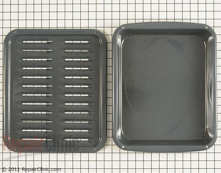 Broiler pan & insert