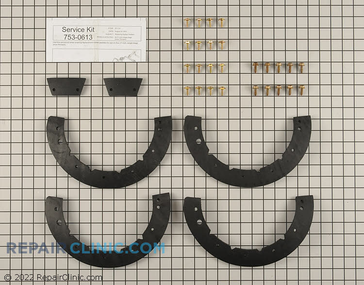 Auger Blade 753-0613 Alternate Product View