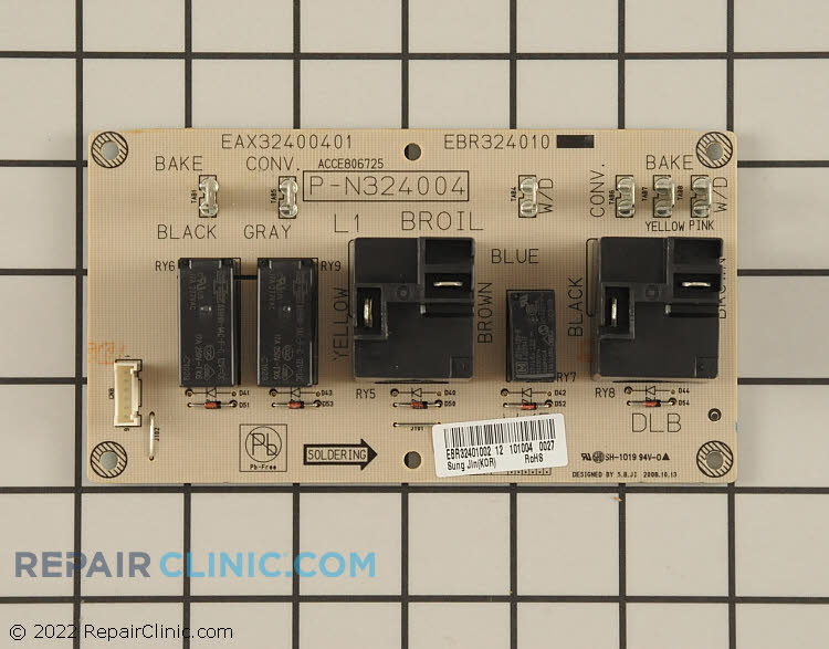 Relay Board EBR32401002     Alternate Product View