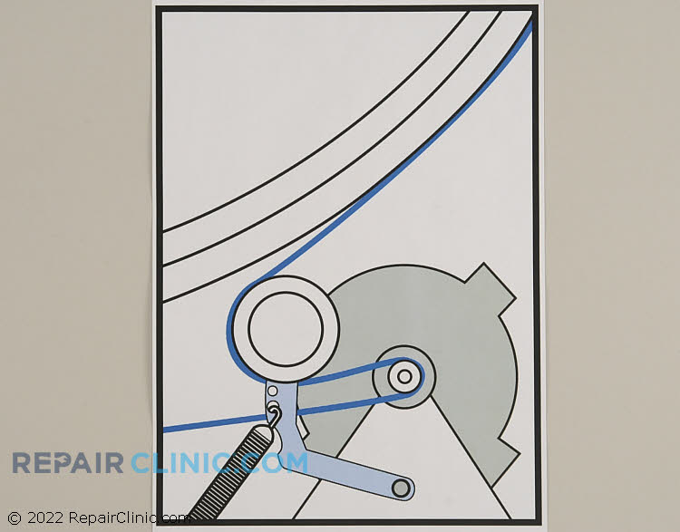 Drive Belt WP33002535 Alternate Product View