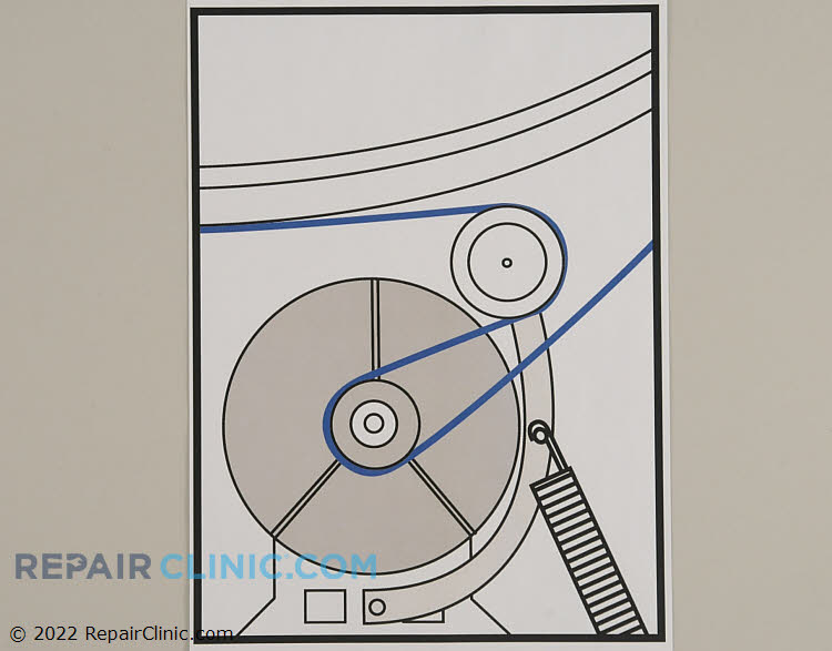 Drive Belt WP40111201 Alternate Product View