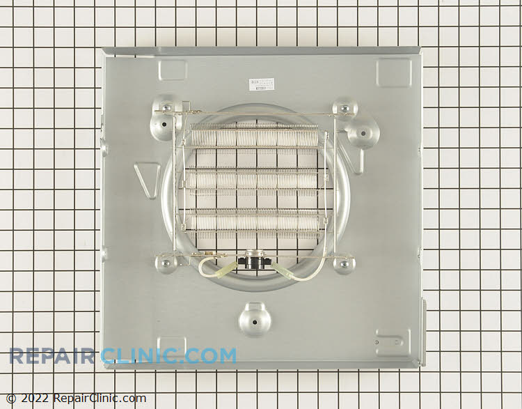 Electric heater assembly with safety switch