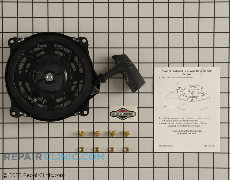 Recoil Starter 497680          Alternate Product View