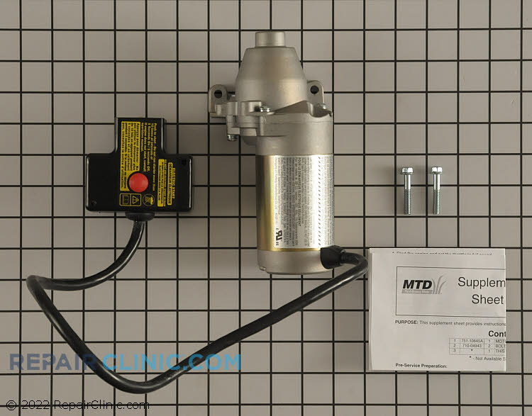 Electric Starter 951-10645A Alternate Product View