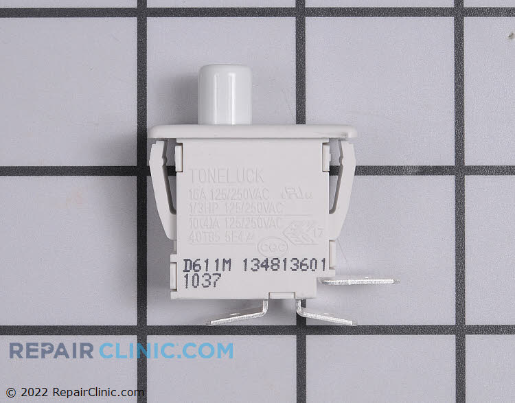 Dryer door switch, 3 wire