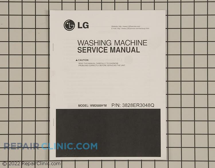 Repair Manual 3828ER3048Q     Alternate Product View