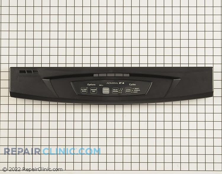 Control panel, black