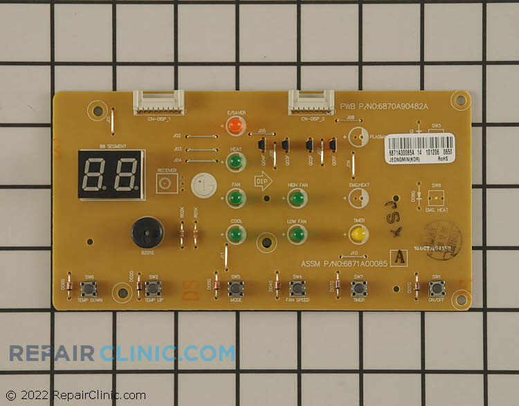 User Control and Display Board 6871A00085A Alternate Product View