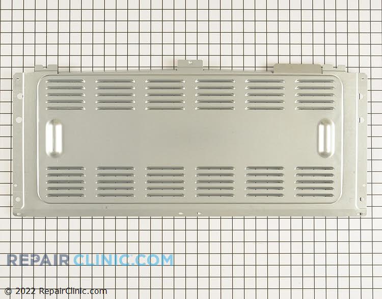 Rear wall backguard shield