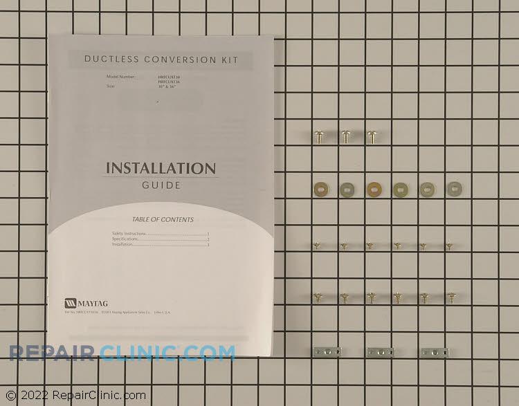 Recirculating Vent Kit WP49001193 Alternate Product View