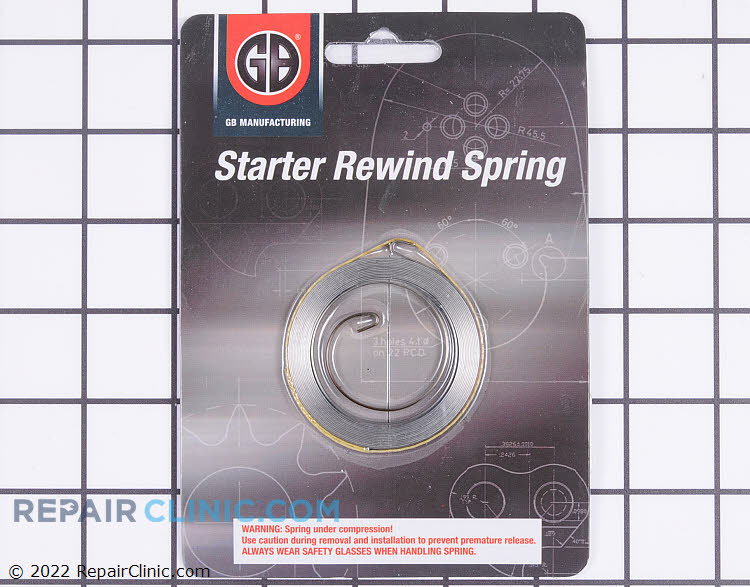 Rewind Spring 155-580 Alternate Product View