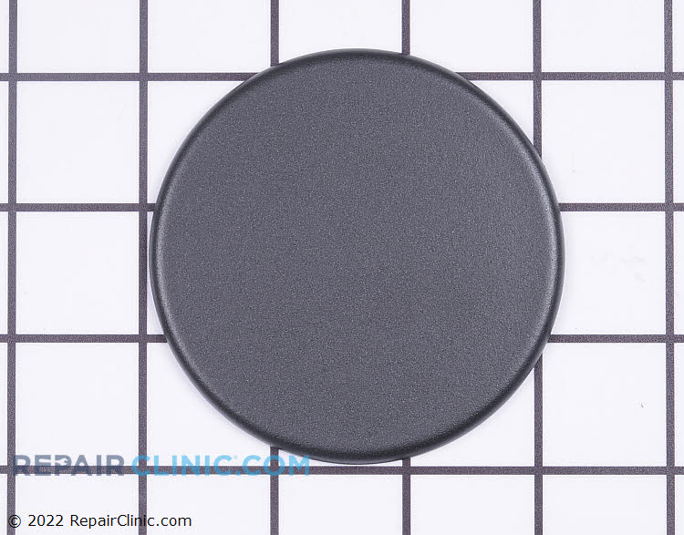 Burner cap, 14K, black