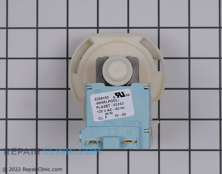 Drain Pump WP661658 Alternate Product View