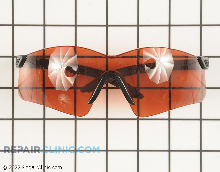 Red Mirror  Lens Saftey Glasses. Protect your eyes while doing yard work. These glasses meet ANSI Z87.1+ saftey standards.