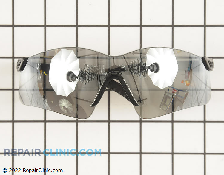 Silver Mirror Lens Saftey Glasses. Protect your eyes while doing yard work. These glasses meet ANSI Z87.1+ saftey standards.