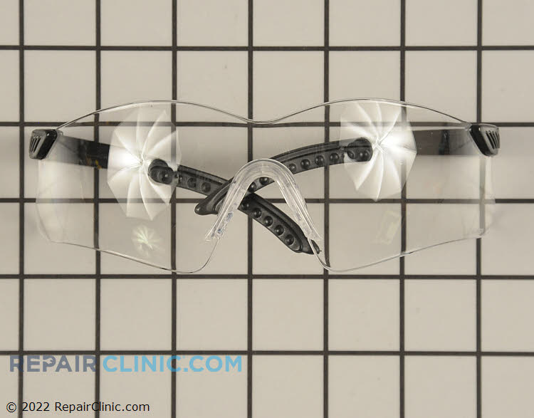 Clear  Lens Saftey Glasses. Protect your eyes while doing yard work. These glasses meet ANSI Z87.1+ saftey standards.