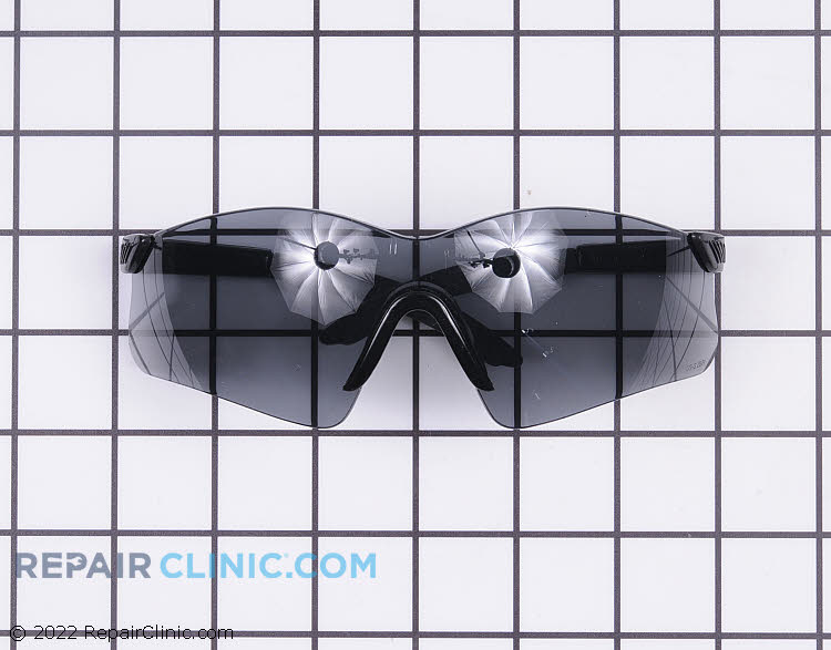 Grey  Lens Saftey Glasses. Protect your eyes while doing yard work. These glasses meet ANSI Z87.1+ saftey standards.