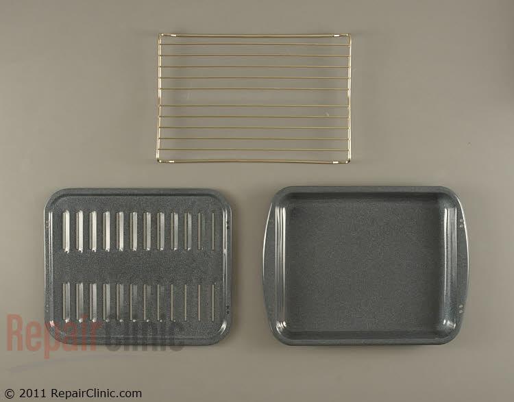 Broiler Pan W10123240 Alternate Product View