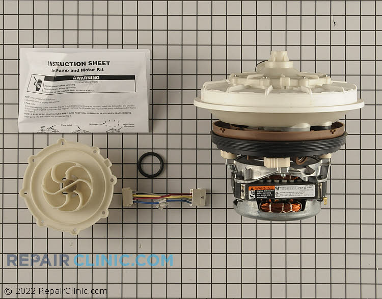 Dishwasher Pump And Motor Assembly W10428773 Fast