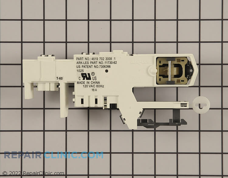 Door Lock WP8183270 Alternate Product View