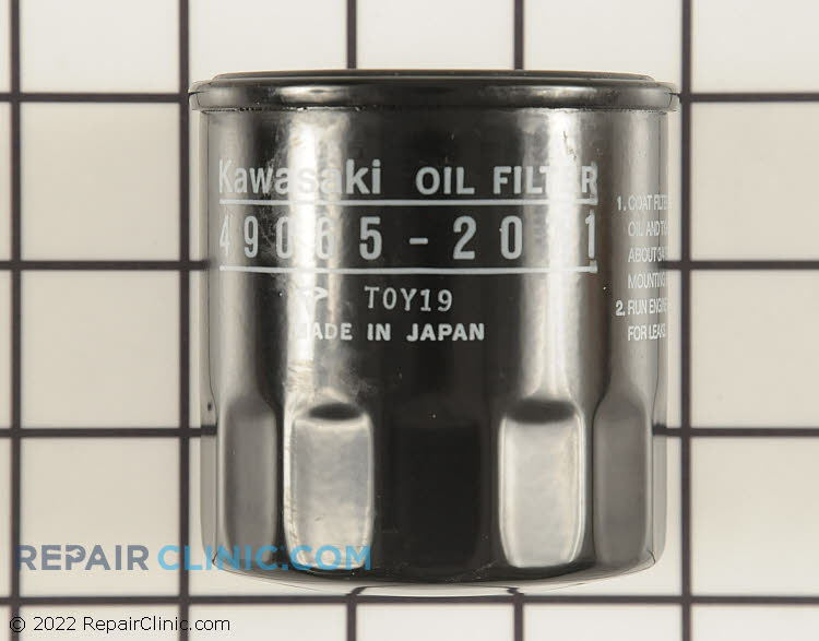 Kawasaki oil filter