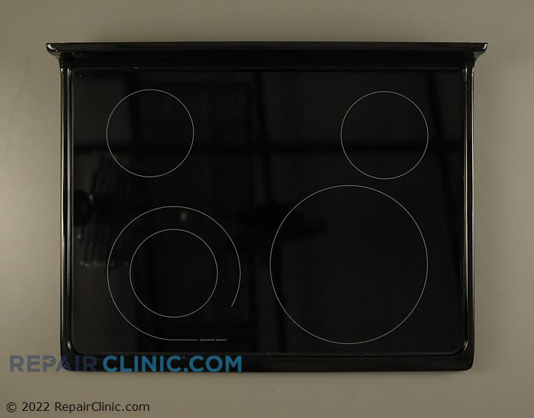 Main glass cooktop, black