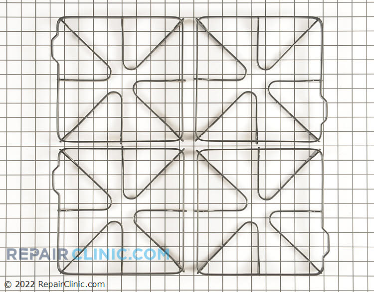 Burner Grate WB32X5087       Alternate Product View