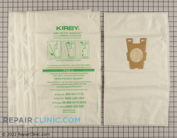 Vacuum Bag 204811G         Alternate Product View