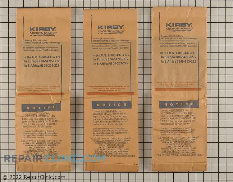 Vacuum Bag 197201 Alternate Product View