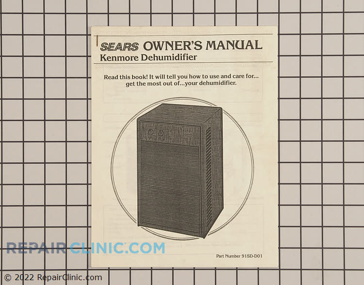 Owner's Manual 5303211047      Alternate Product View