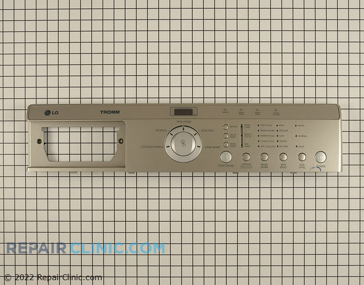 Control Panel 3721ER1160F     Alternate Product View