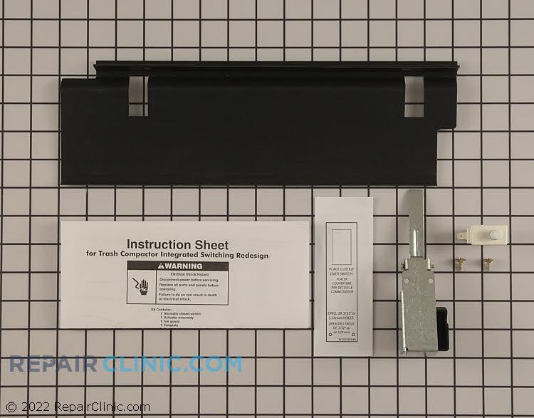 Door Switch W10342596 Alternate Product View