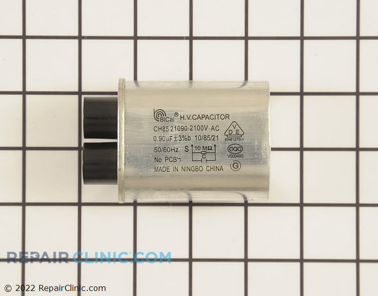 High voltage capacitor .90 mfd.