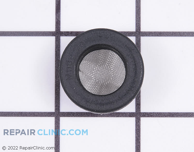 Hose washer with filter screen