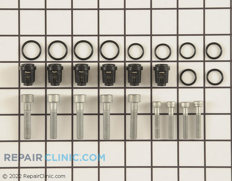 Check valve kit for pressure washer pump