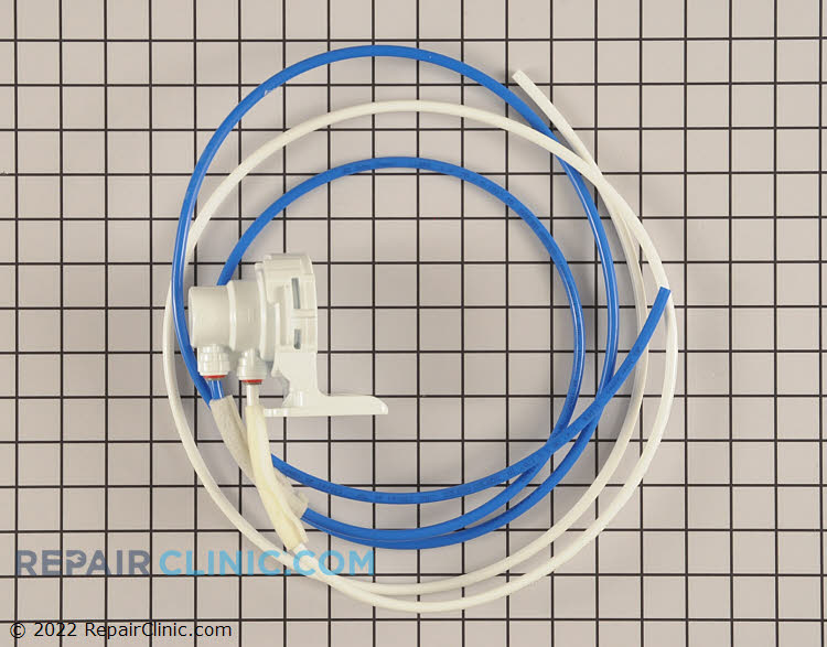 Filter head and water lines - Item Number DA97-06317A