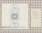 Vacuum Bag - Part # 1161553 Mfg Part # 00462544