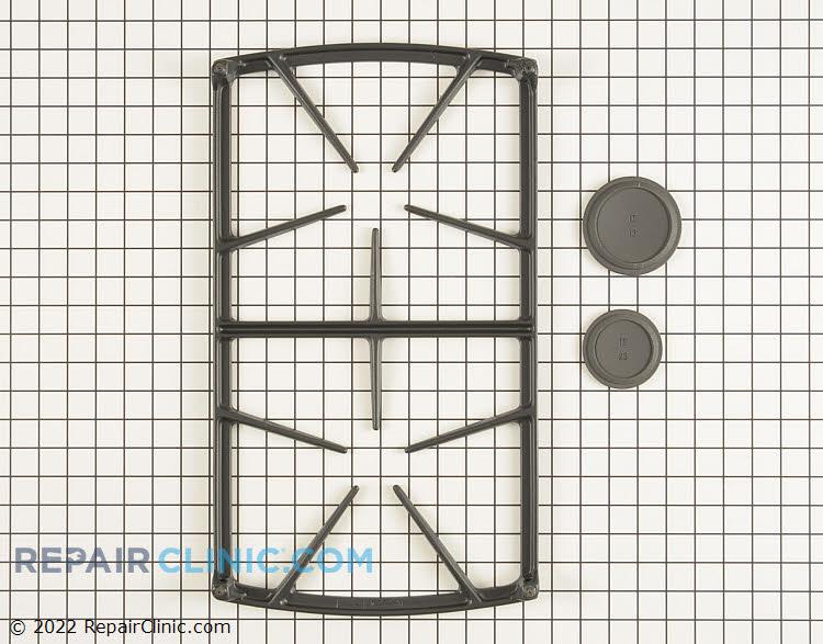Burner Grate 72466SB Alternate Product View
