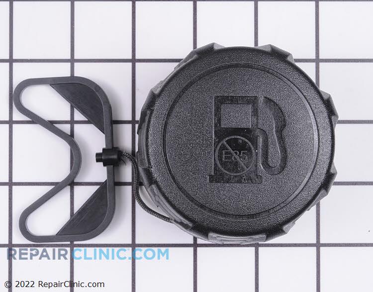 Fuel cap with retainer