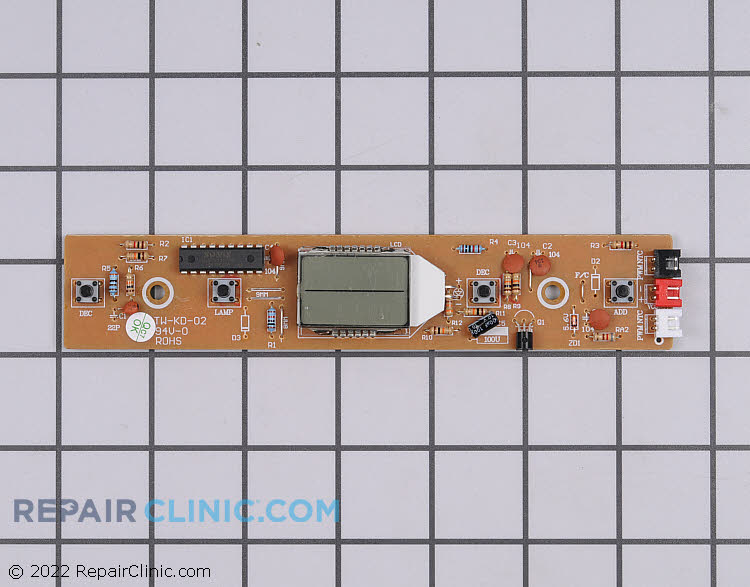 User Control and Display Board RF-5210-38      Alternate Product View