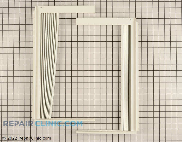 Window side curtain filler kit and frame