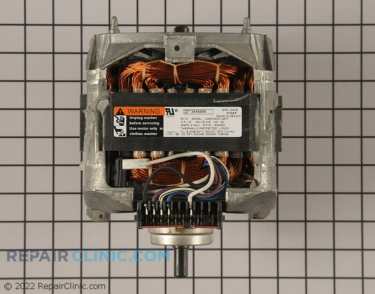 Drive Motor 3946895         Alternate Product View