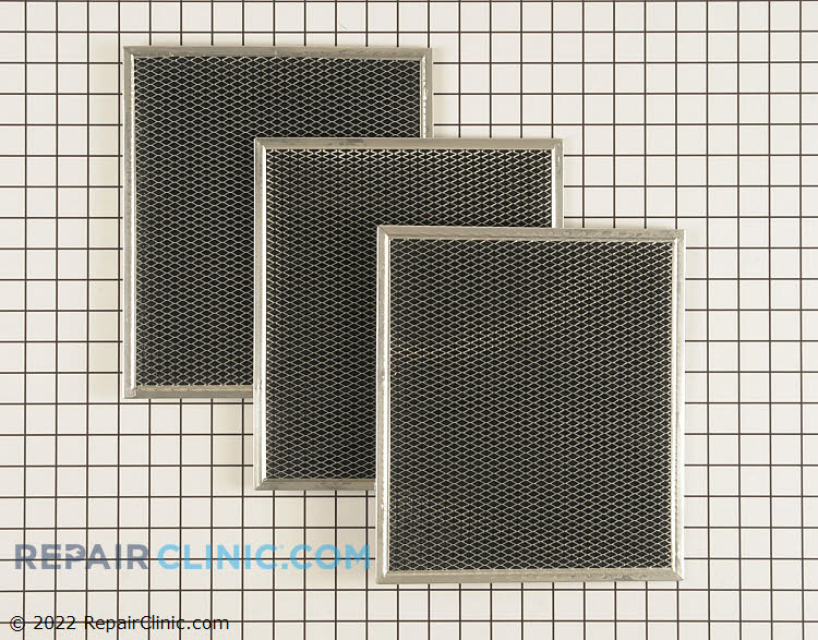 Charcoal filter kit (for non-vented installations only)