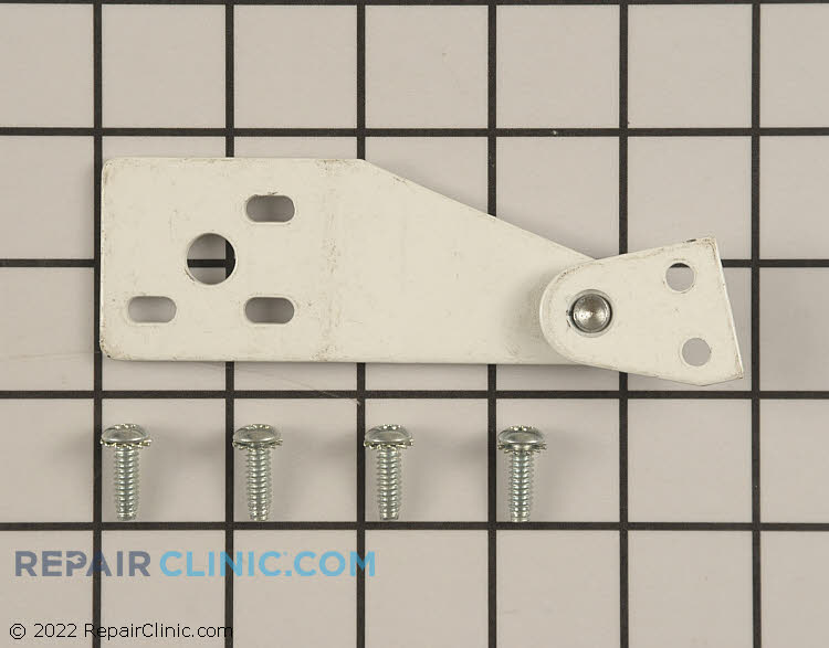 Top Hinge 242-1-WHT       Alternate Product View