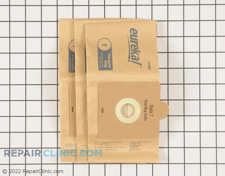 Vacuum Bag 61555B Alternate Product View