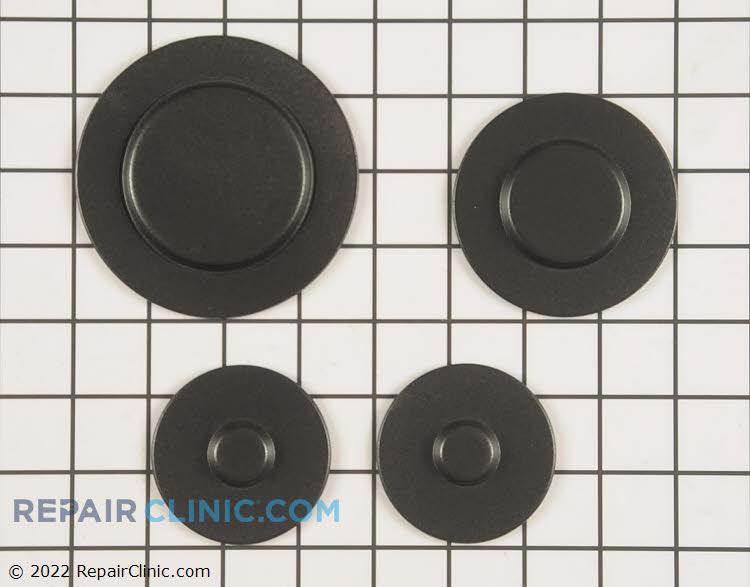 Surface burner cap kit