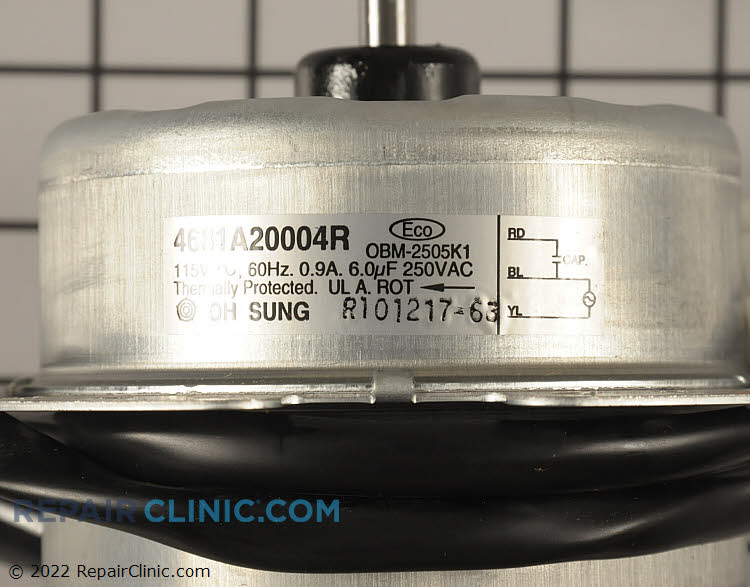 Fan Motor 4681A20004R Alternate Product View