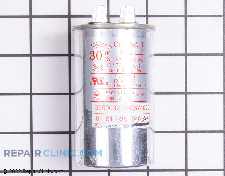 Run Capacitor WJ20X23829 Alternate Product View